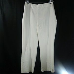 Pendleton. Women Pants Size18W Plus Color:White